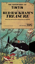 Coverscan of The Adventures of Tintin: Red Rackham's Treasure