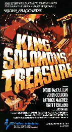 Coverscan of King Solomon's Treasure