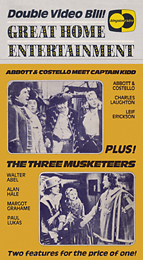 Coverscan of The Three Musketeers