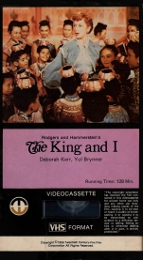 Coverscan of The King and I