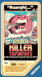 Coverscan of Attack of the Killer Tomatoes