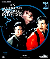 Coverscan of An American Werewolf in London