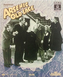 Coverscan of Arsenic and Old Lace