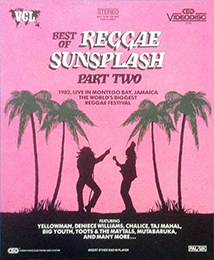 Coverscan of Best of Reggae Sunsplash - Part Two