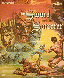 Coverscan of The Sword and the Sorcerer
