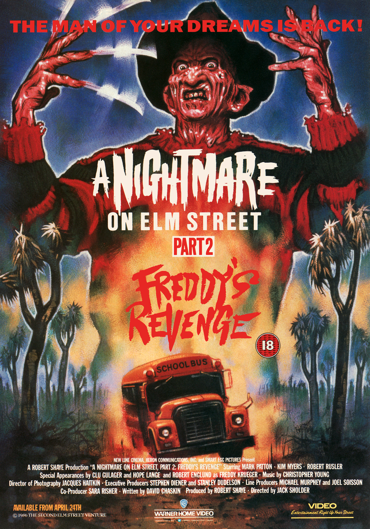 A Nightmare on Elm Stret Part 2 Freddy's Revenge · Graham ...